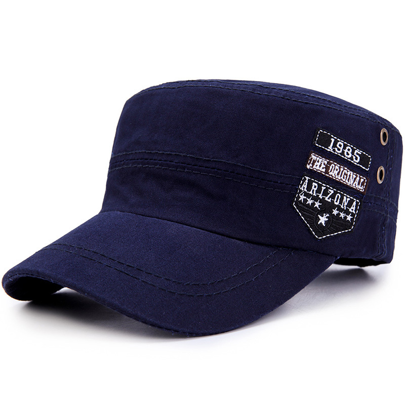 Army Hat Embroidery ARIZONA Flat Top Hat Cadet Patrol Gorras Baseball Cap  Men b4b1e9536e3