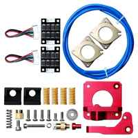 12pcs/pack Springs Extruder Sock Tube Stepper Dampers Smoother kit For Creality Ender 3 Printer Accessories