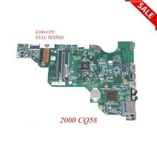 NOKOTION PN 010172W00 600 G laptop moederbord 688303 501 688303 001 voor HP 2000 Compaq 2000 CQ58 688303 001 Main board WERKT