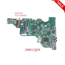 NOKOTION PN 010172W00 600 G laptop motherboard 688303 501 688303 001 for HP 2000 Compaq 2000 CQ58 688303 001 Main board WORKS