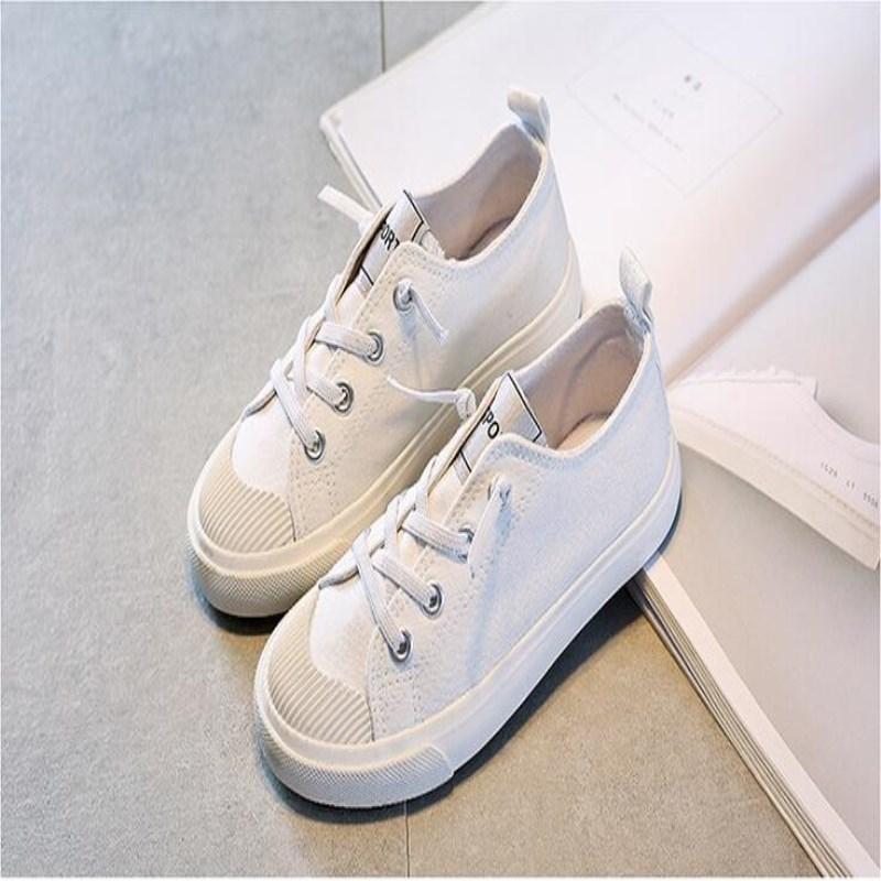 Вундеркинд обувь новая детская парусиновая обувь для мальчиков и девочек эластичный пояс прилив обувь для езды на велосипеде поколения