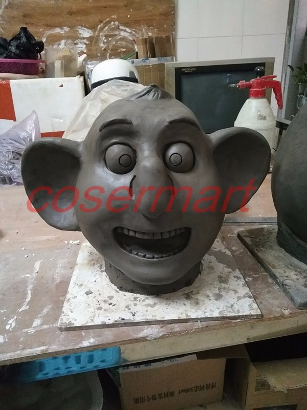 2016 Movie Sing Cosplay Buster Moon Latex  Mask Koala Animal Mask Halloween Party (2)