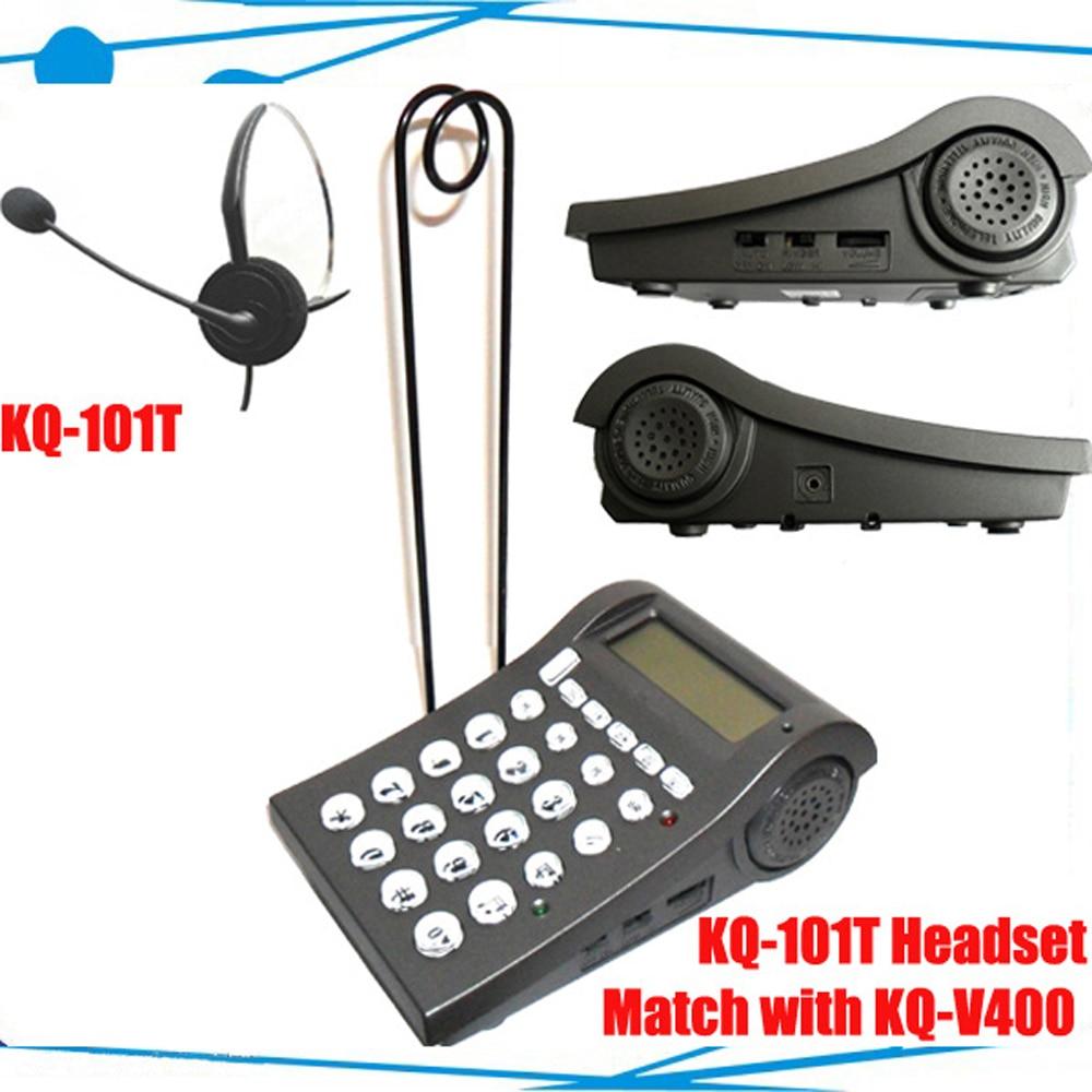 ФОТО Call center telephone dial pad phone headset phone headphons with RJ9 Jack noise canceling headset phone headset
