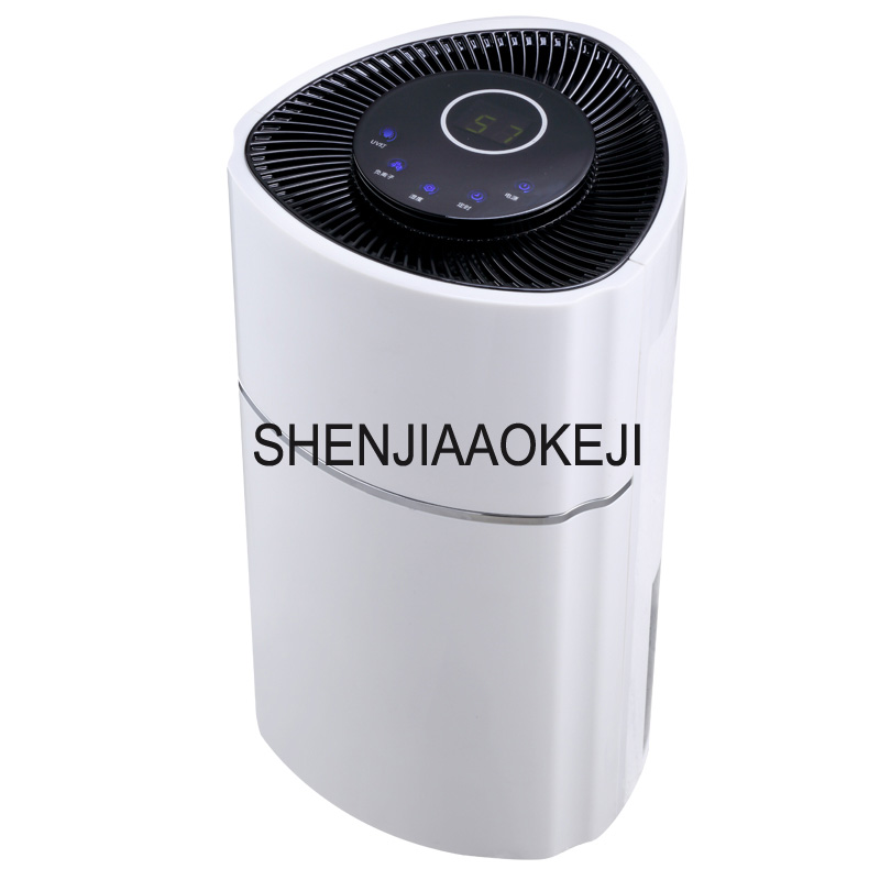 DS01A-02 electric intelligent dehumidifiers 2.4L UV light purify air dryer moisture absorb smart home appliances 220V electric intellignce dehumidifiers moisture absorber water intelligent deshumidifier 0018type