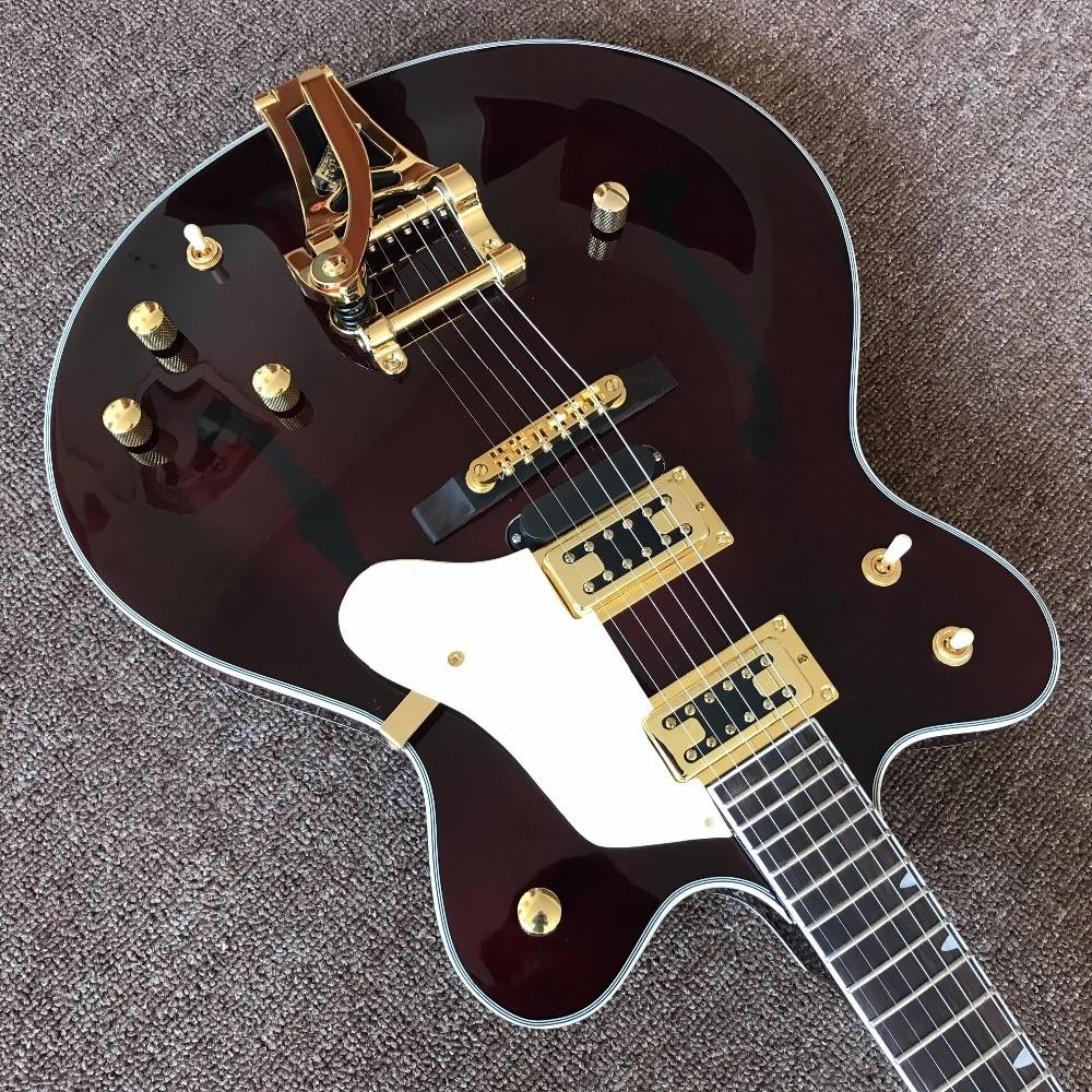 custom Jazz Electric Guitar, Gret G6122-1962 Chet Atkins Country Gentleman Falcon Semi Hollow Jazz guitarra high quality custom tele jazz electric guitar hollow body jazz electric guitar