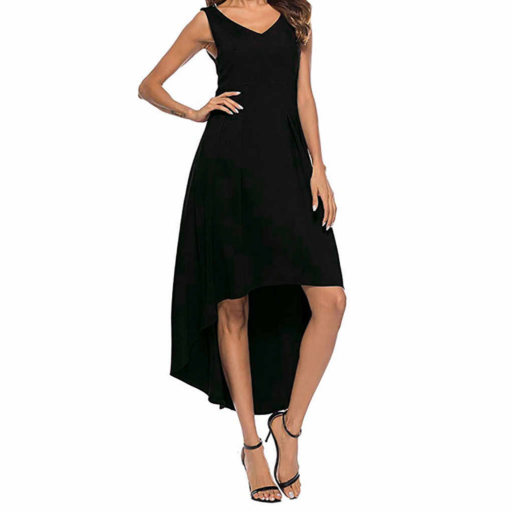 Модное женское летнее сексуальное платье с v-образным вырезом без бретелек, тонкое однотонное платье, новое модное сексуальное элегантное платье до щиколотки, Vestido
