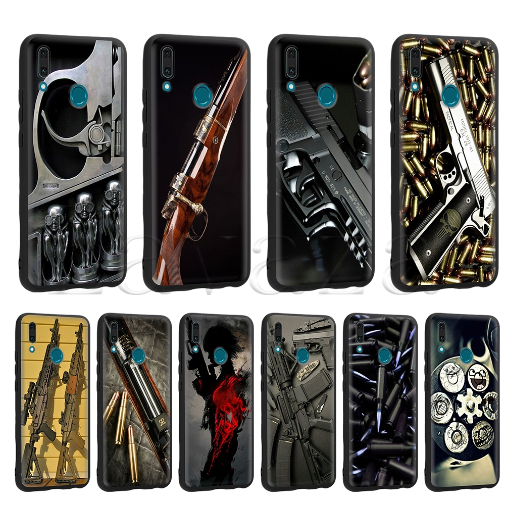 Phone Bags & Cases Fitted Cases Genteel Lavaza Nice Weapons Rifle Guns Sniper Pistol Bullet Tpu Case For Huawei Mate 10 P8 P9 P10 P20 Y7 Y9 Lite Pro P Smart 2017 2019 Drip-Dry