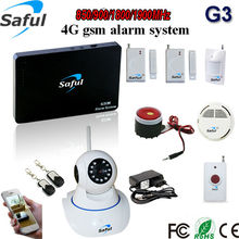 Finest mixture Wi-fi 315/433MHz gsm alarm system distant monitoring propaganda perform wifi ip digicam safety residence