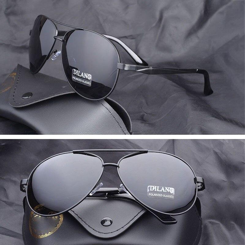 Vazão Enormes óculos Polarizados Óculos De Sol Dos Homens aviação Max a 160mm Condução Óculos de Sol para Homem marca UV400 Preto primavera dobradiça