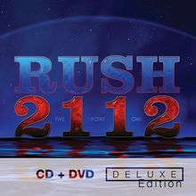Rush - 2112-Deluxe Edition [CD New] brand new European version 07.2016(China)