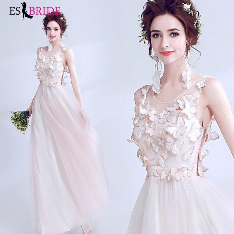 Elegant   Evening     Dresses   2019 New Robe De Soiree Fashion White Lace Appliques Formal   Evening     Dress   Vestidos De Fiesta De ES2264