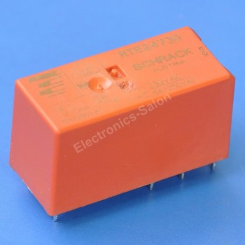( 10 pcs/lot ) TYCO 8 Amp DPDT Industrial Power Relay, Coil 230V AC, RTE24730.