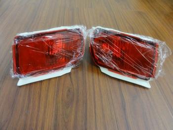 2 Pcs/Pair Rear fog lamps tail bumper fog lights without bulbs for TOYOTA LAND CRUISER PRADO FJ150 2010-2015