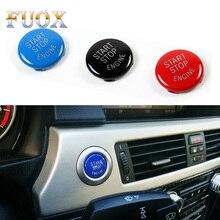 цена на Car Engine START Button Replace Cover STOP Switch Accessories Key Decor for BMW X1 X5 E70 X6 E71 Z4 E89 3 5 Series E90 E91 E60