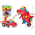 3.5' ABS Min Gogo Dino Deformation Car/Airplane Action Figures REX Car/Airplane/Submarine/Bulldozer Transformation Dinosaur toys