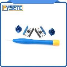 2 個 TMC2208 v1.2 ステッピングモータミュートドライバ stepstick 電源チューブ内蔵ドライバ電流 1.4A ピーク電流 2A TMC2100 交換