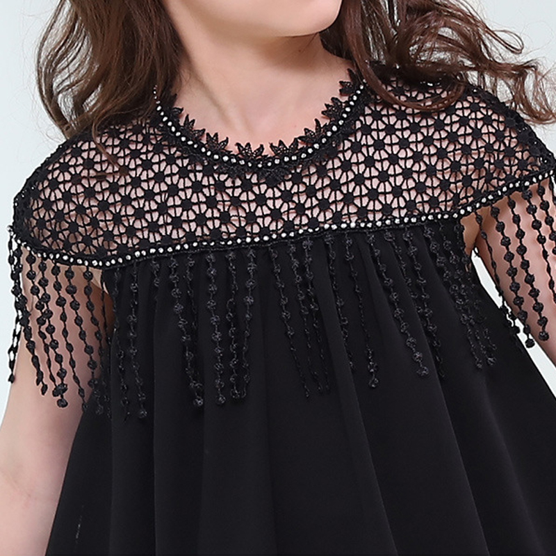 46bfebb9c9a big girls summer dresses 2018 brand chiffon teen girl party dress teenage  girls dresses size 4 5 6 7 8 9 10 11 12 13 14 15 years-in Dresses from  Mother ...