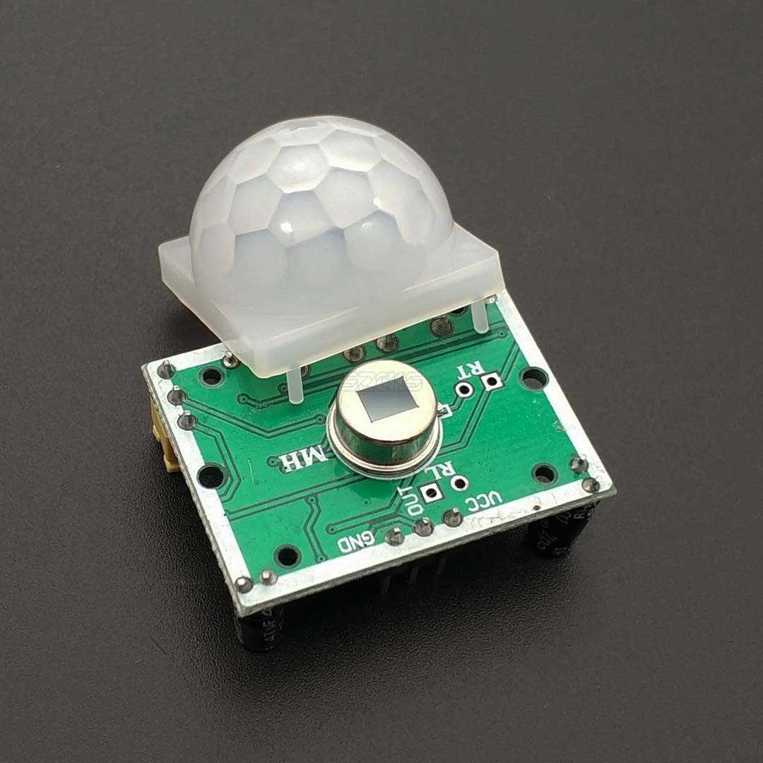 SR501 HC-SR501 ajuster le module de détecteur de mouvement de Module PIR infrarouge pyroélectrique IR