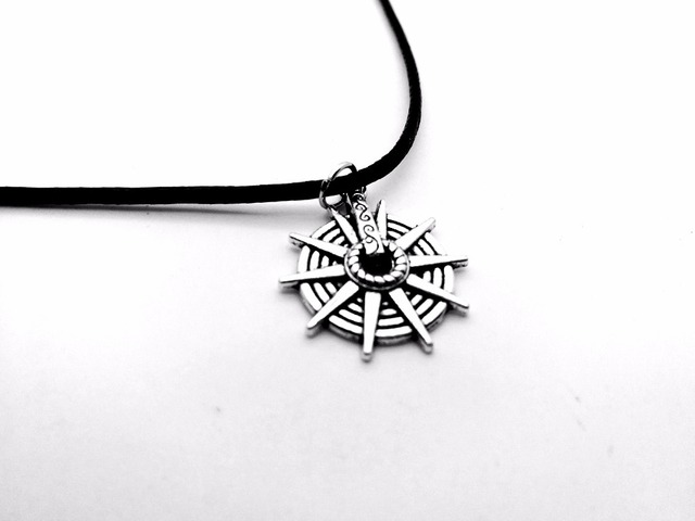 10pcs retro navy anchor rudder ships boats necklace wheel pendant 10pcs retro navy anchor rudder ships boats necklace wheel pendant nautical captains helm leather rope necklaces mozeypictures Images