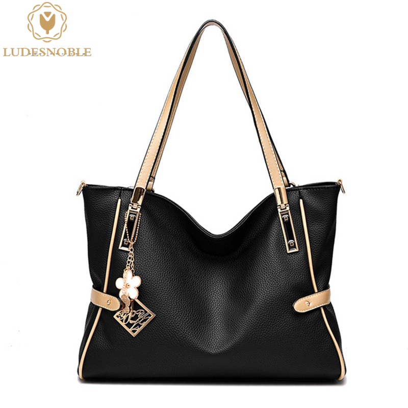 LUDESNOBLE Shoulder font b Bag b font font b Women b font font b Bag b