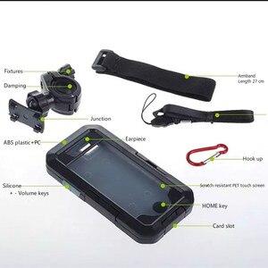 Image 5 - Moto Della Bicicletta Supporto Del Telefono Del Sacchetto per il iphone XS Max 8 7 Più 11 Pro Custodia Impermeabile Supporto Mobile Della Bici Del Manubrio del supporto Del Basamento