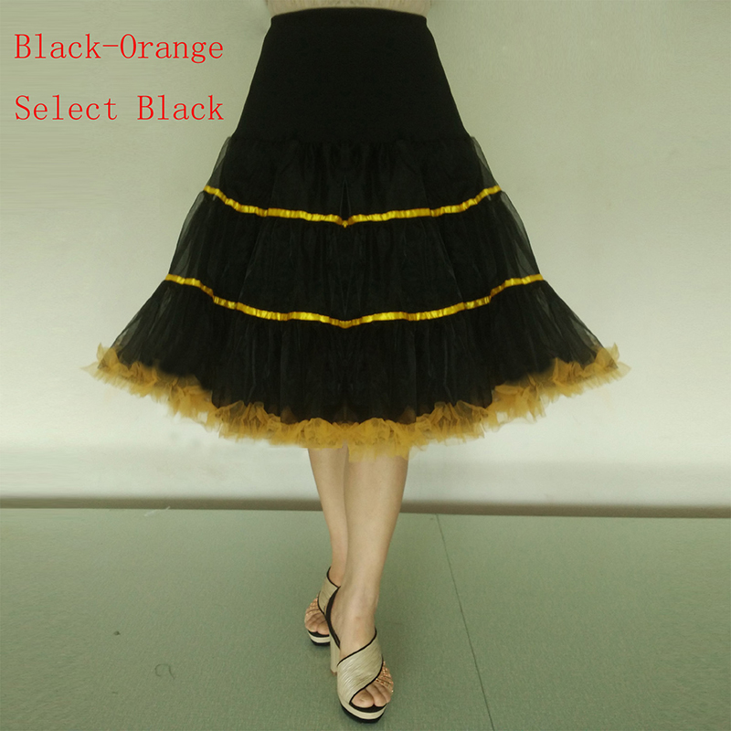 89c7a7d647db Women Petticoat 1950s Rockabilly Vintage Tulle Puffy Underskirt Slips Girl  Skirt Kinderen Jupon White Red Black High Quality-in Petticoats from  Weddings ...