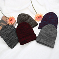 Beanies Cap Unisex Women Men Knit Winter Warm Ski Crochet Slouch Hat 5 solid colors  DM#6