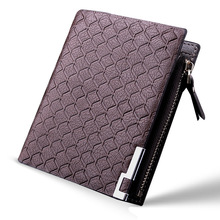 Brand New Men Wallets Famous Genuine Leather Mens Wallet Male Money Ba