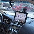 Nueva Moda Negro Soporte de Coche tablet PC Soporte Para pad/soporte de la tableta GPS 360 grados Marco Ajustable