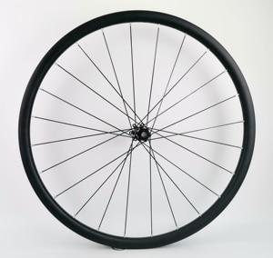 Image 2 - 29ER Asymmetrie MTB AM/XC haakjesloze carbon wielen 30mm breedte 24mm diepte mountainbike super licht carbon wielset