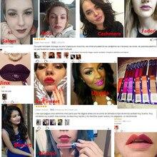 Maquillaje Batom Long Lasting labiales  Matte Lipstick
