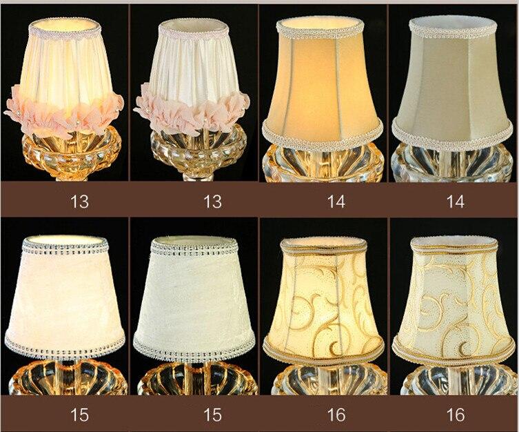 Kerzenlampen Für Kronleuchter ~ E kerze bulb stoff lampenschirm pendelleuchte kronleuchter