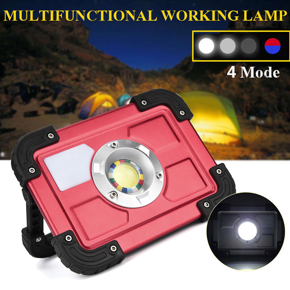 30W COB LED Rechargeable Flood Light Spot Work Camping Fishing Outdoor Lawn Lamps linterna led cabeza linterna30W COB LED Rechargeable Flood Light Spot Work Camping Fishing Outdoor Lawn Lamps linterna led cabeza linterna