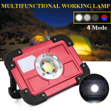 30W COB LED Rechargeable Flood Light Spot Work Camping Fishing Outdoor Lawn Lamps linterna led cabeza linterna