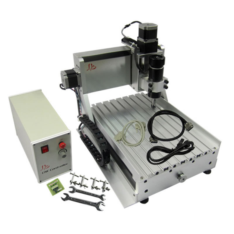 3 Axis USB CNC Router 3020 500W Spindle Mini Lathe Wood Carving Machine
