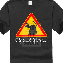 Personalised T Shirts Gildan New Children Of Bodom Metal Rock Band MenS Black Shirt Size S To 3Xl