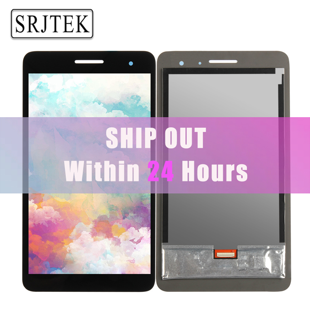 Srjtek 7 For Huawei MediaPad T2 7.0 LTE BGO-DL09 LCD Display Matrix With Touch Screen Panel Digitizer Full Assembly Parts for huawei mate 7 lcd display touch screen 100