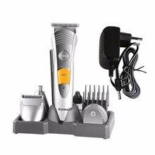 7 En 1 Eléctrico Peluquero Tijera de Pelo Clipper Máquina de Afeitar Para hogar Profesional Peluquería Pelo Herramienta de Cuidado Personal de Afeitar caliente nueva