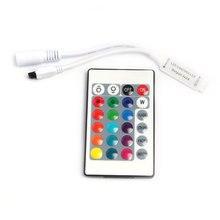 B1 RGB LED Controller DC12V Mini 24Key IR Remote Controller For 3528 5050 RGB LED Strip. 27w led rgb fiber optic illuminator with 24key ir remote and shooting star wheel ac100 240v input