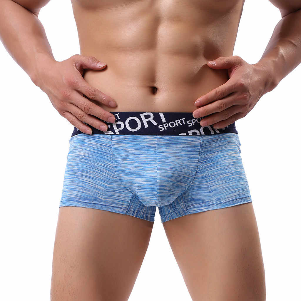 Sexy Men Boxer Soft Breathable Underwear Men's  Soft Underpants Knickers Shorts Sexy Underwear For Men high quality