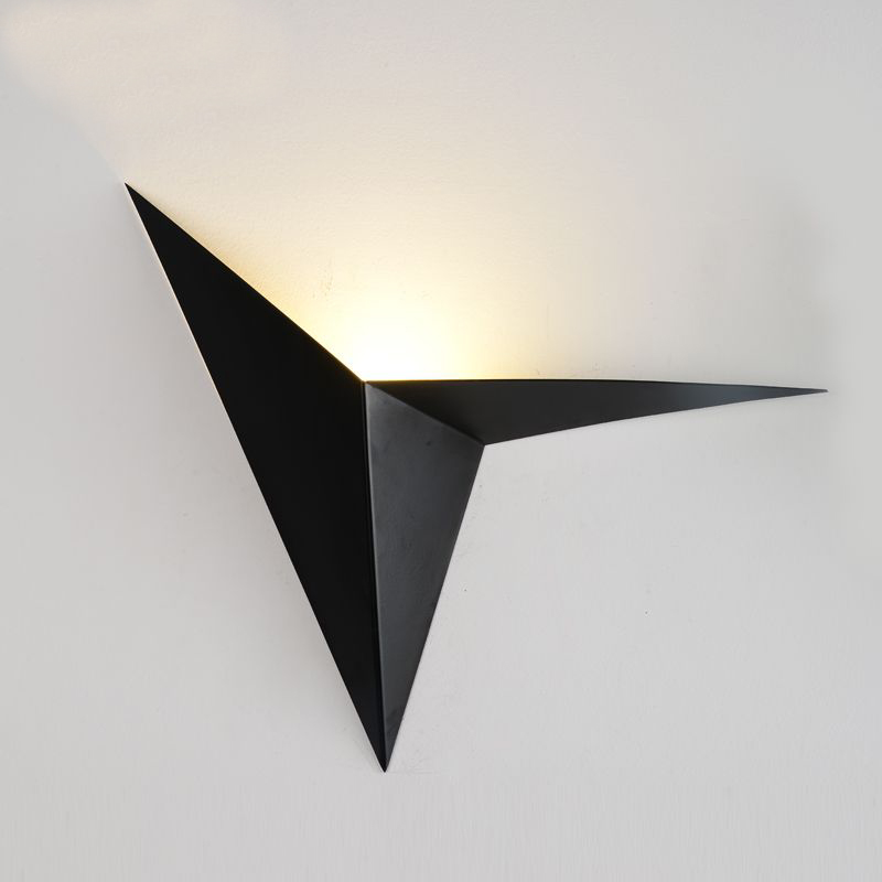 Modern minimalist triangle shape LED Wall Lamps Nordic style Indoor Wall Lamps Living Room Lights 3W AC85-265V Simple LightingModern minimalist triangle shape LED Wall Lamps Nordic style Indoor Wall Lamps Living Room Lights 3W AC85-265V Simple Lighting