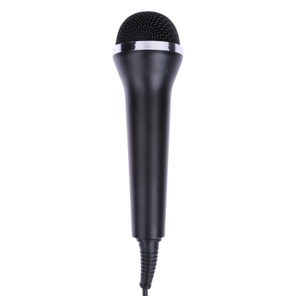 black universal usb wired microphone for ps2 ps3 for xbox one xbox 360 wii pc computer. Black Bedroom Furniture Sets. Home Design Ideas