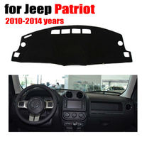 Car Dashboard Covers Mat For Jeep Patriot 2010 2014 Years Left Hand Drive Dashmat Pad Dash