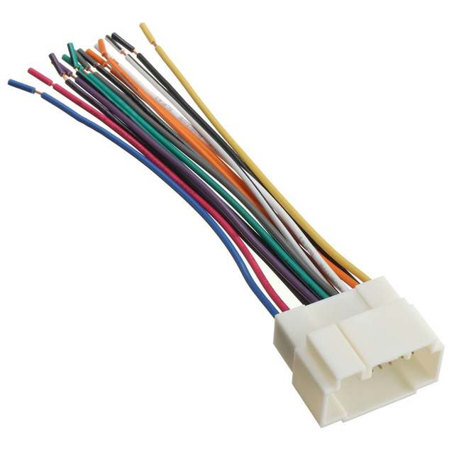 Online Shop Car Stereo CD Player Wiring Harness Wire Adapter Plug