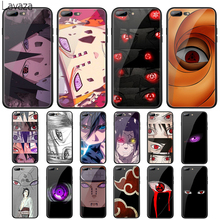 цена на Lavaza Naruto eyes Tempered Glass Case for Apple iPhone 6 6s 7 8 Plus X 5 5S SE XS 11 Pro Max XR Cover