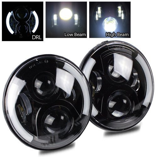7 Inch Round LED Driving Light (19)