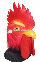 New Design Realistic Amimal Fancy Dress Latex Adult Rooster Costume for Halloween Party Carnival