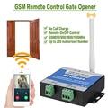 GSM открывалка для ворот реле пульт дистанционного включения/выключения переключатель управления доступом беспроводной открывалка двери п...