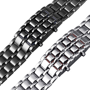Image 4 - Aidis الشباب الساعات الرياضية مقاوم للماء الإلكترونية الجيل الثاني ثنائي LED الرقمية ساعة رجالي سبيكة شريط للرسغ ساعة