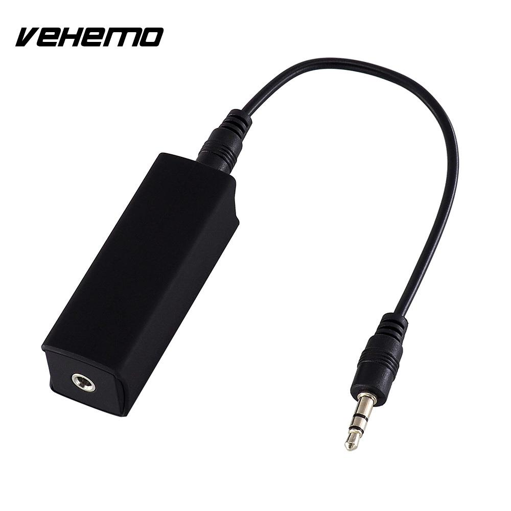 Mini Anti-jamming Noise Isolator Car Audio Cable Ground Loop Smartphone/Speakers/Buetooth Device Home Noise Filter